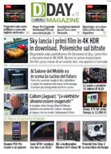DDAY.it Magazine n.176 - Primi contenuti SKY 4K