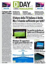 "DDAY.it Magazine n.111: la TV del futuro è ""ibrida"""