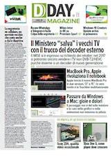 "DDAY.it Magazine n.143 - Il Ministero ""salva"" i vecchi TV"