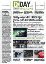 DDAY.it Magazine n.169 - Disney compra Fox