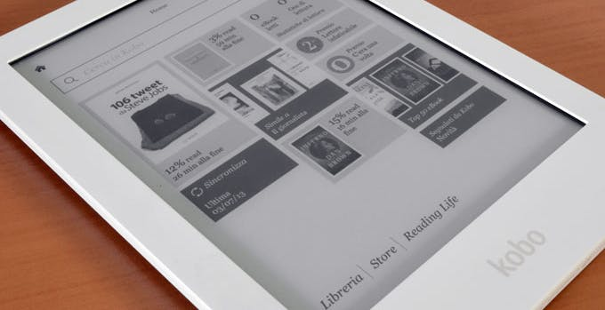 Test Kobo Aura HD: il Principe degli ebook?