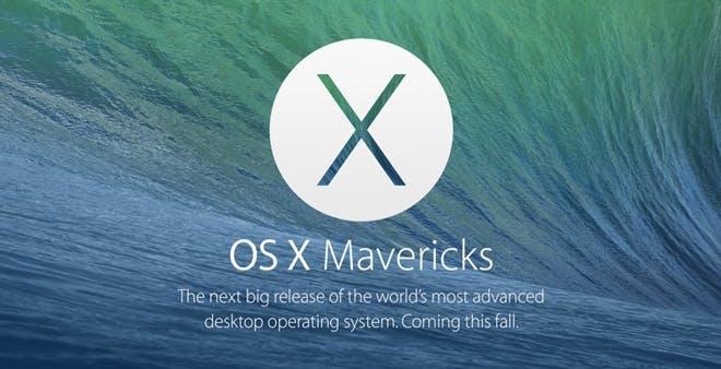 OS X 10.9 Mavericks arriva a fine ottobre