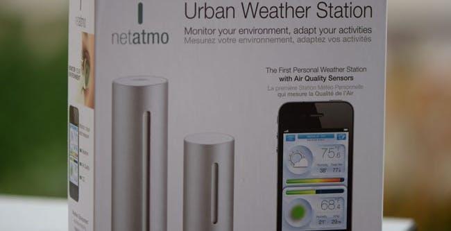 Test: NetAtmo, la stazione meteo che legge anche l'inquinamento