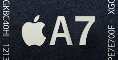 Apple sotto accusa per il processore A7