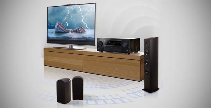 Da Pioneer il sistema di diffusori per Dolby Atmos