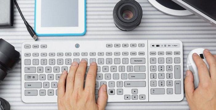 Jaasta è la tastiera e-ink che cambia pelle