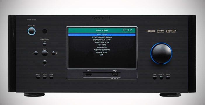 Rotel RSP-1582, il processore home theater tutto schermo