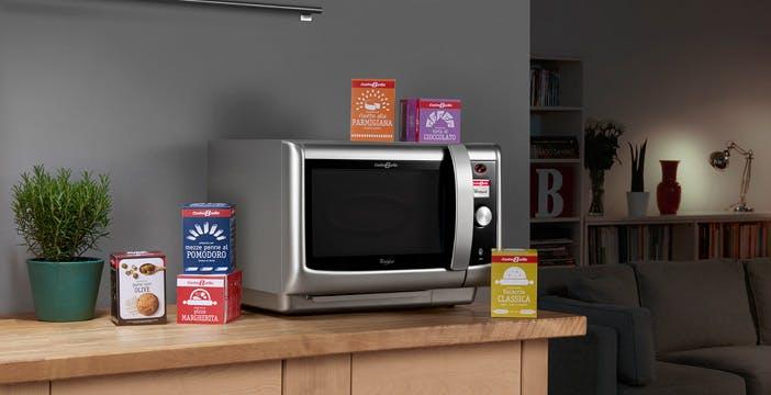 CucinaBarilla: avvicini la scatola e il forno fa tutto da sé