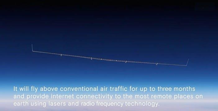 Il drone di Facebook diffonderà Internet sparando LASER nel cielo