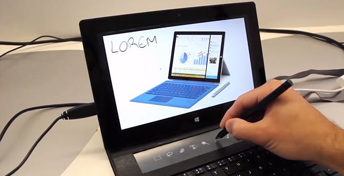 Microsoft mette l'e-ink nella type cover di Surface