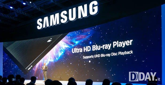 Ultra HD Blu-ray Samsung in Italia a inizio 2016 a meno di 500 €. Dischi a 29 €