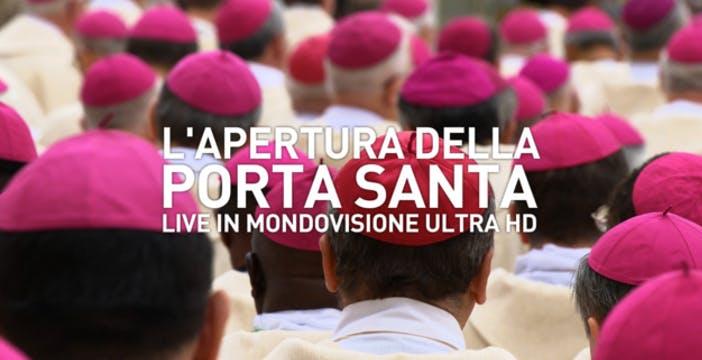 L'Apertura della Porta Santa sarà trasmessa in Ultra HD