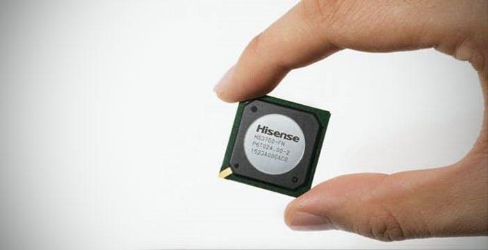 Hisense presenta il suo primo chipset grafico per Smart TV