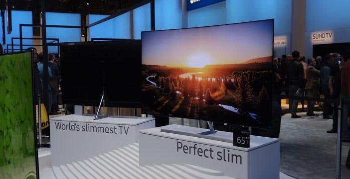 Samsung sfida LG: per fare il TV più sottile al mondo non serve l'OLED