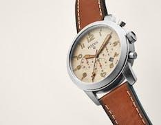 Da Fossil arriva Q54 Pilot, lo smartwatch dal look classico