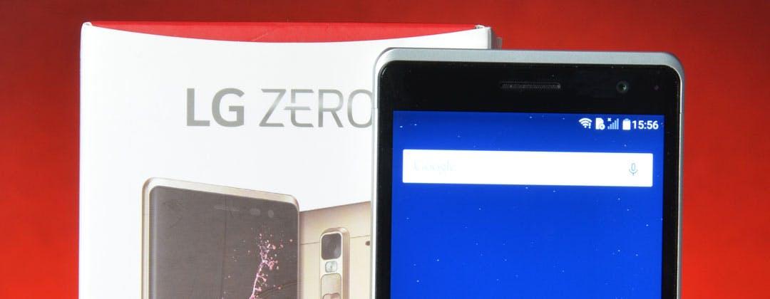 LG Zero in prova: anche l'occhio vuole la sua parte