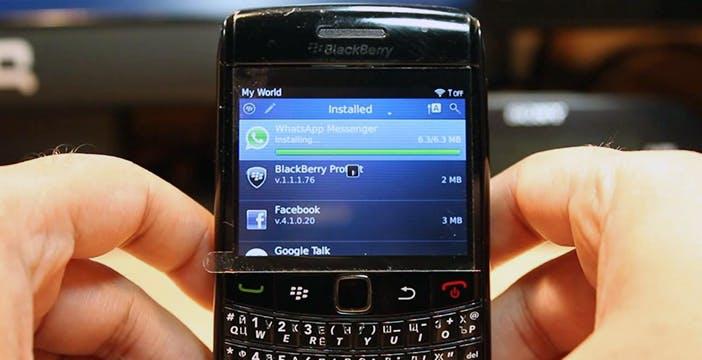 WhatsApp abbandona i vecchi sistemi operativi. Tra questi, BlackBerry