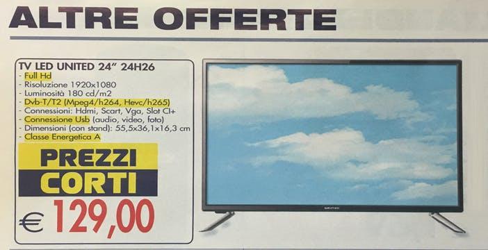 Esselunga, lezione di chiarezza ai retailer specializzati: TV DVB-T2 con HEVC evidenziati sul volantino