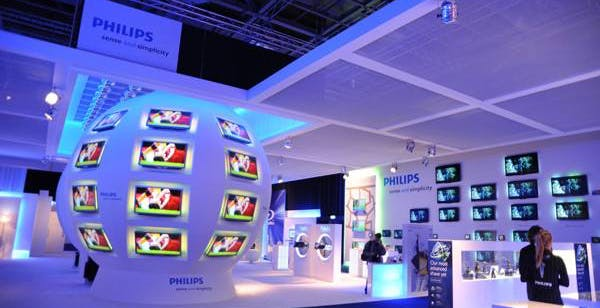 Philips: tour guidato dello stand