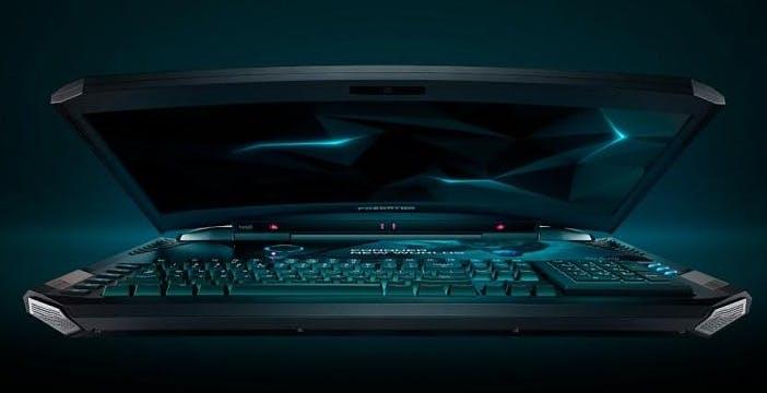 Gaming estremo con Predator 21 X, il primo laptop con schermo curvo da 10.000€