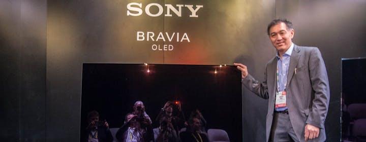 """Sony: """"L'OLED costerà meno del top di gamma  LCD ZD9. Che resta il riferimento"""""""