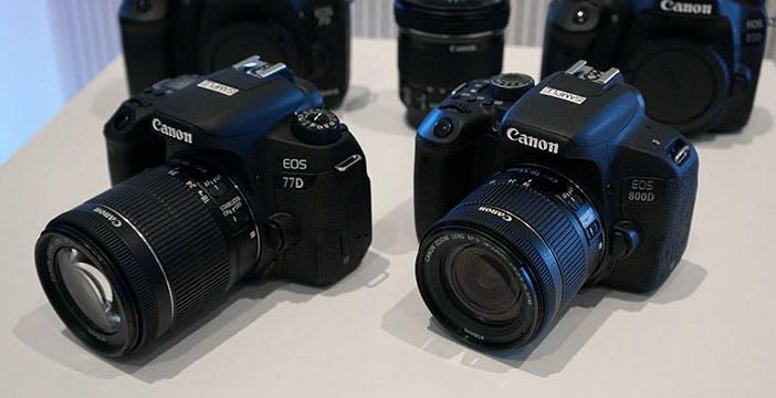 Canon rimpolpa le reflex entry-level e piazza la seconda mirrorless in pochi mesi
