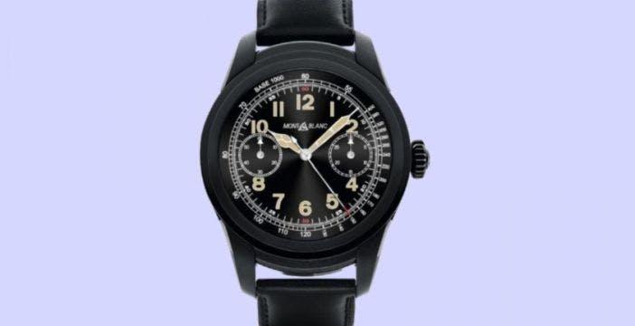 Montblanc lancia Summit, lo smartwatch extralusso