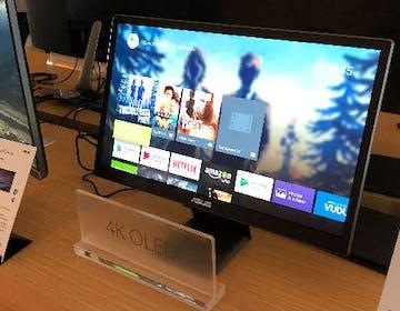 """Asus ha un monitor OLED da 22"""" HDR e 4K. Ma non ci ha colpito"""