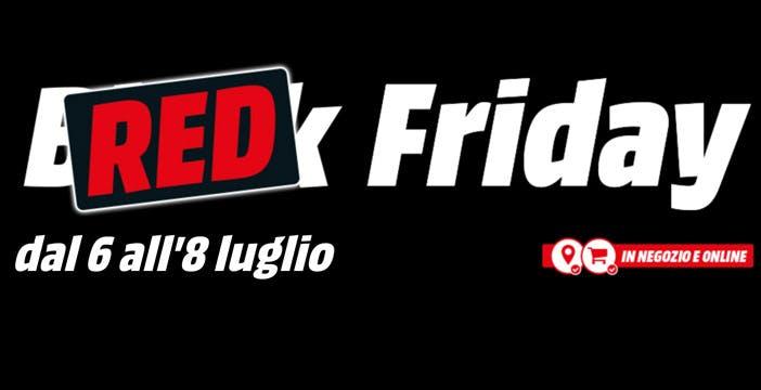 Settimana di promozioni pazze da MediaWorld: arriva il Red Friday