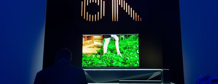 "Samsung lancia il TV 8K e leva enfasi da The Wall. In arrivo The Frame da 49"""