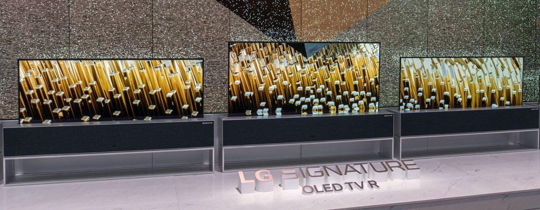 Anteprima OLED R, il TV arrotolabile di LG. Il nostro video