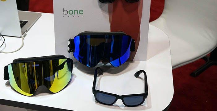 StartupItaliane@CES2019: musica e telefonate da occhiali e maschere da sci con i trasduttori ossei di Bone