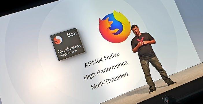 Windows in versione ARM, disponibile una versione beta di Firefox