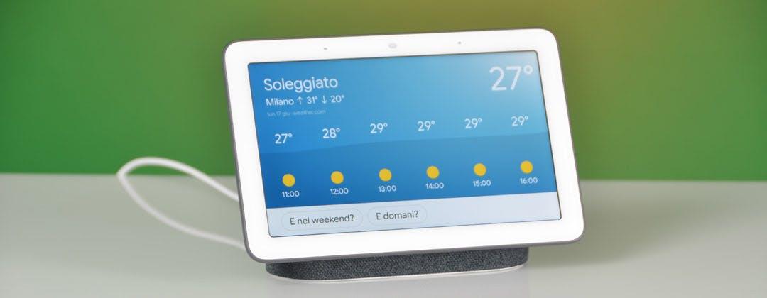 Google Home scopre lo schermo. La prova di una settimana con Nest Hub