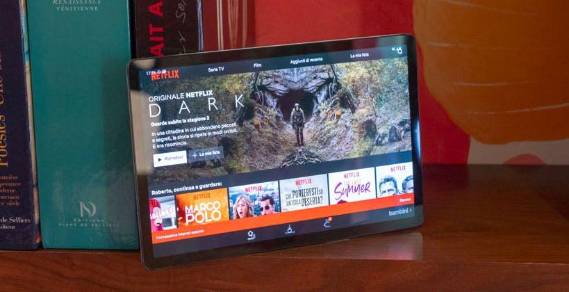 Galaxy Tab S5e è il miglior tablet per film e serie TV in mobilità. Recensione
