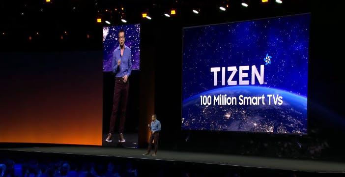 Samsung renderà disponibile il suo Tizen OS ad altri produttori di TV