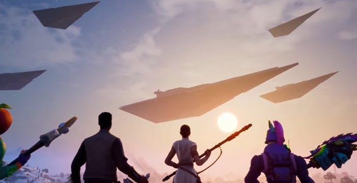 La trasformazione di Fortnite: con Star Wars è stata pura pubblicità