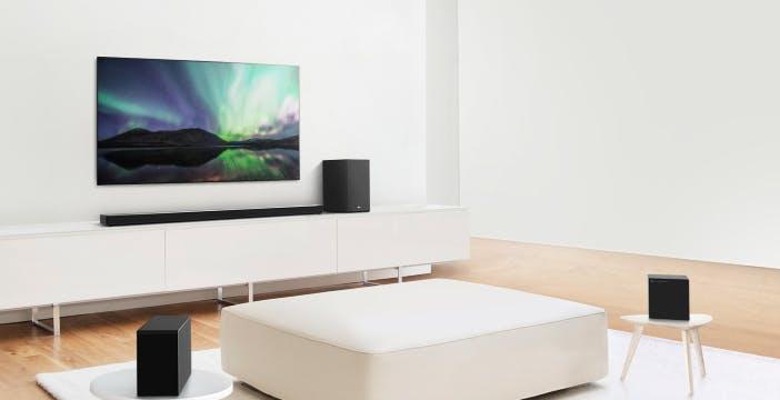 Le nuove soundbar di LG al CES 2020: Dolby Atmos, DTS:X e audio a 12 canali