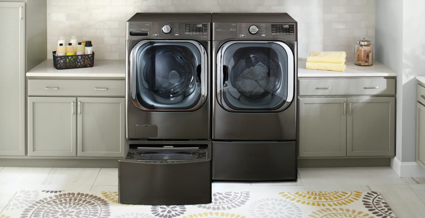 Grazie all'IA la lavatrice LG conserva i capi più a lungo. Premiata al CES 2020