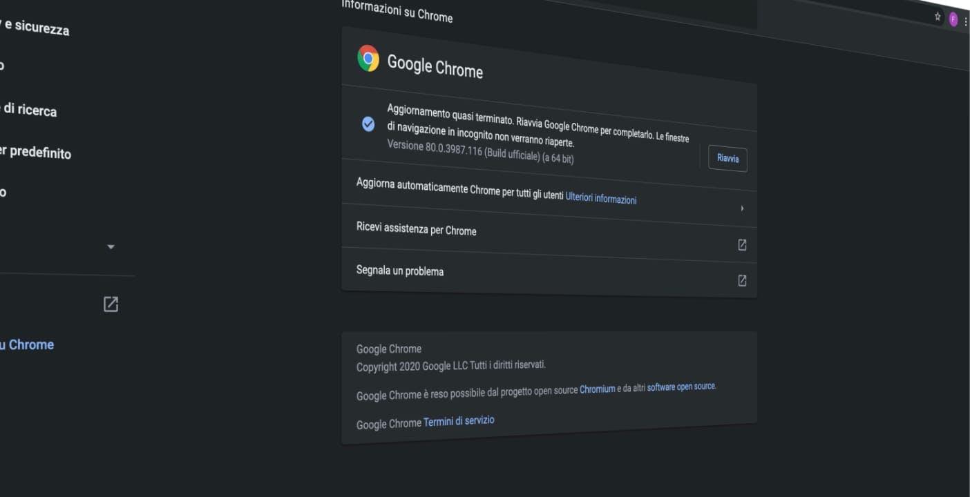 C'è un enorme problema di privacy in Chrome versione 80, ma Google fa spallucce