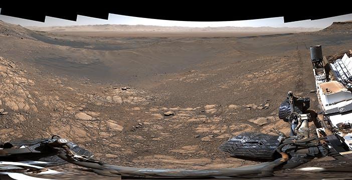 1,8 miliardi di pixel di panorama marziano. La foto del rover Curiosity è incredibile