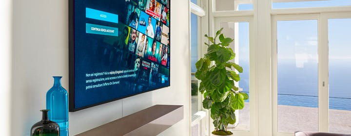 RAI Play e le altre app: con la Smart TV Samsung non perdi una puntata