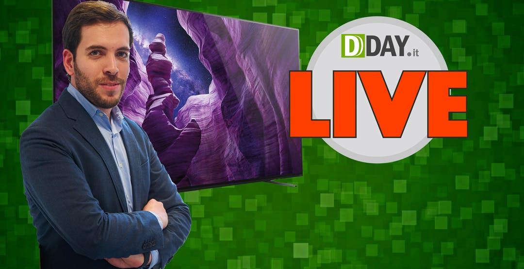 DDAY Live: la risposta a tutte le domande sui TV Sony 2020
