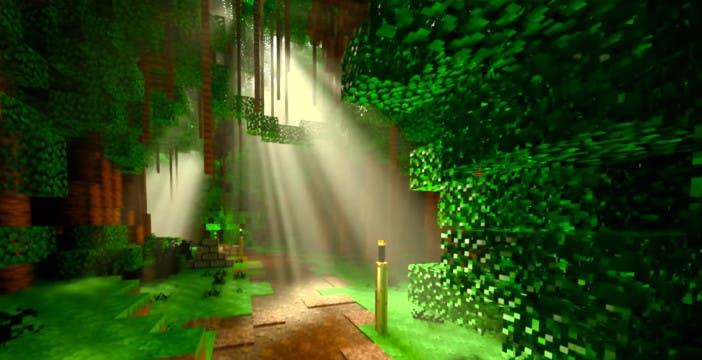 Minecraft accende le luci del ray tracing di Nvidia. Finalmente disponibile la beta gratis