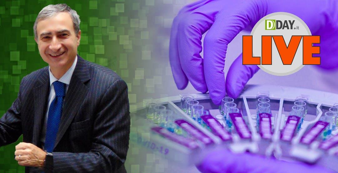 """Ci faranno la """"patente di immunità""""? DDAY Live con Salvatore Cincotti di TehcnoGenetics"""
