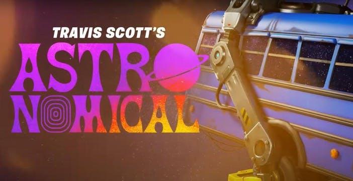 Il concerto su Fortnite di Travis Scott è un successo: 12 milioni di persone connesse. Da oggi le repliche