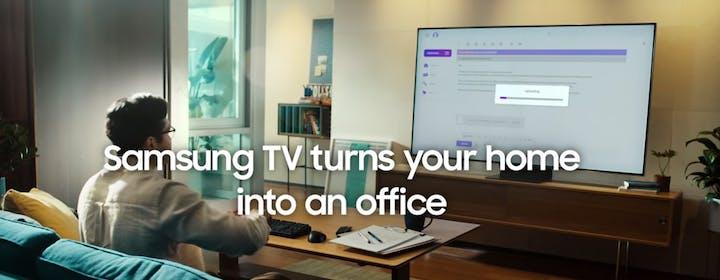 Da Smart TV a Smart Working grazie a Samsung Remote Access