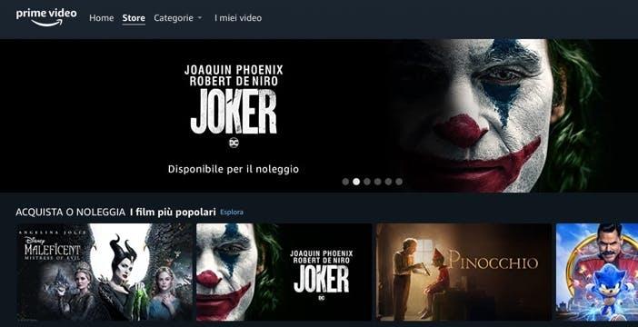 Amazon Prime Video: da oggi si possono anche acquistare e noleggiare film
