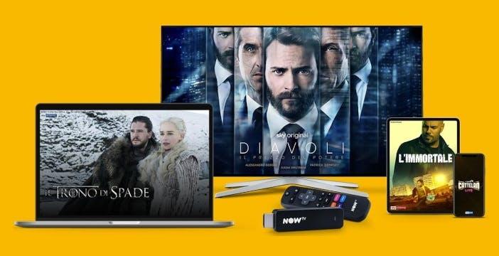 Cambiano i prezzi di Now Tv: HD sempre incluso, ma non da PC e smartphone