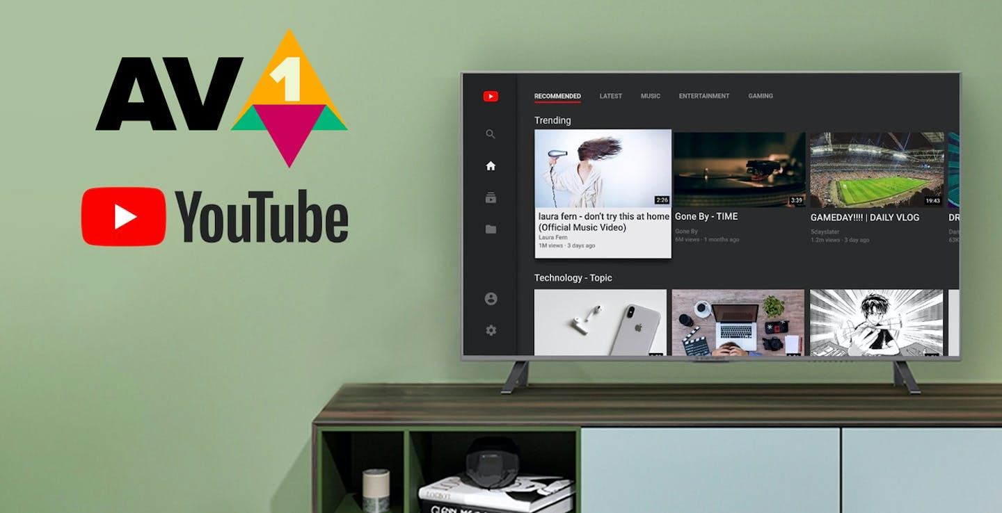Youtube, streaming in AV1 su Android TV. Ma nessun televisore è pronto